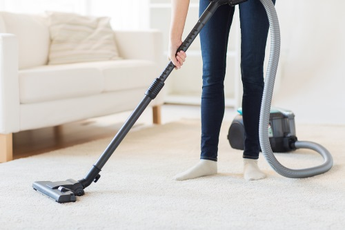 Residential Cleaning in Donaldsonville LA - vacuuming carpets