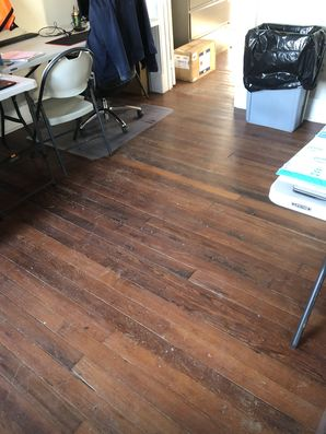 Before & After Office Floor Cleaning in Baker, LA (2)